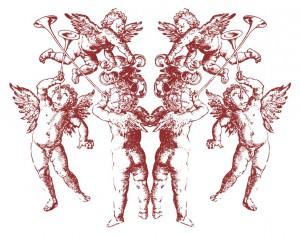angeli rossi doppi