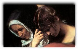 Maria_maddalena Caravaggio-Cristo nel sepolcro